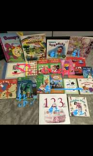 Part 1 Young children story books learn English moral values