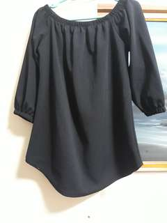 PreLoved OffShoulder Long Blouse