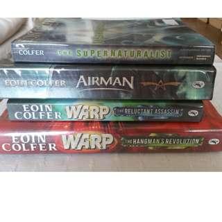 Eoin Colfer 4 books