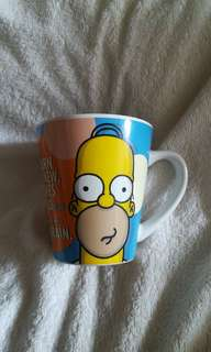 Vintage The Simpsons Ceramic Mug - Homer