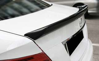 W204 CF Ducktail Boot Spoiler