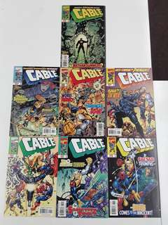 Cable (1993 1st Series) Sign of the End Times Comics Set