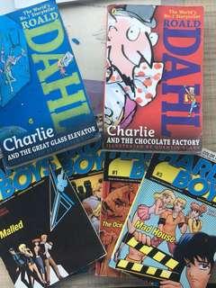 Books- Roald Dahl & Hardy Boys