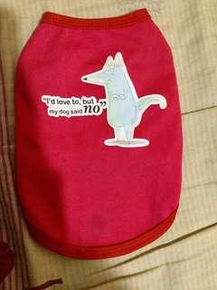 Cat or dog shirt/Sando