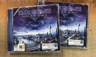 Iron Maiden New Brave World (New Sealed) 2 stock left