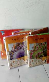 3D bedsheet Queen size with pillow cases. 100 rm all