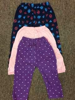 Girl's Pants rm5 for 3!!