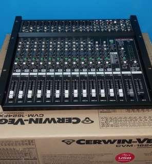CERWIN-VEGA CVM-1624FXUSB Professional audio mixer