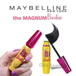 Mascara Maybelline the magnum barbie