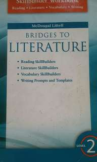 Bridges to Literature by McDougal Littell Skillbuilder Workbook Level 2