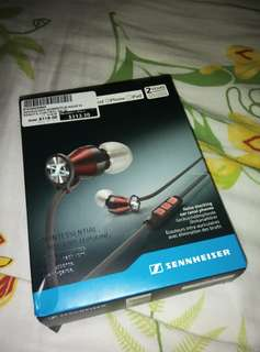 Sennheiser momentum in ear ie iphone