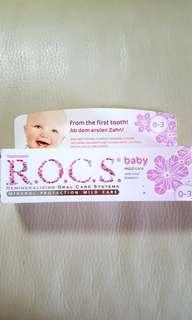 ROCS Baby Toothpaste