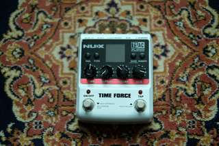 nux time force delay pedal