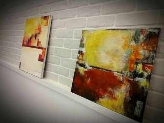 🚚 Reflections- Acrylic on panel