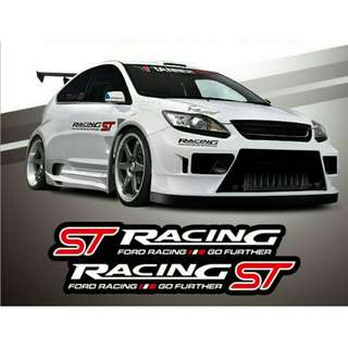 Sticker body racing