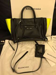 Balenciaga Papier Zip up Bag 手袋
