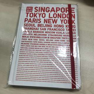 BN Uniqlo notebook