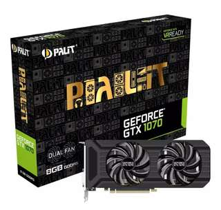 BRAND NEW SEALED Palit GeForce GTX 1070 Dual
