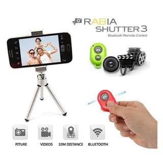 藍牙 自拍好幫手 - 無線遙控快門 - iOS 和 Android 適用 - Bluetooth Wireless Remote Shutter - A0735