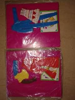 1970年代 公仔衫 Made in Hong Kong 底價五百蚊一套