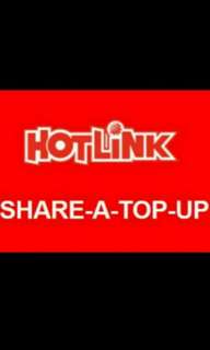 Hotlink share a top up RM3