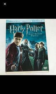 2DVD•CLEARANCE SALES {DVD, VCD & CD}  HARRY POTTER AND THE HALF-BLOOD PRINCE 哈利•波特与同父异母王子 - Two Disc Special Edition 2DVD