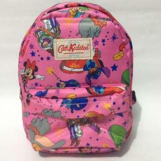 Tas ransel mini CK pink stitch/tas anak perempuan/tas wanita