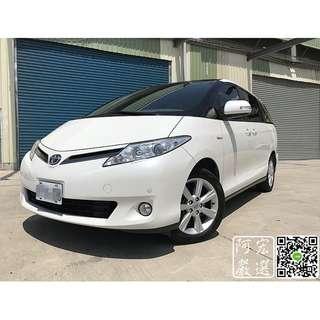 2010 Toyota Previa 3.5 白 全程原廠保養 內外都非常漂亮 3500帶回家 心動專線:0925001842