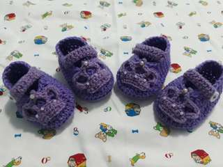 "Crochet ""Sofia the First"" Shoes 🏵"
