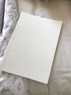 White Notebook