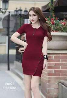 KNITTED DRESS