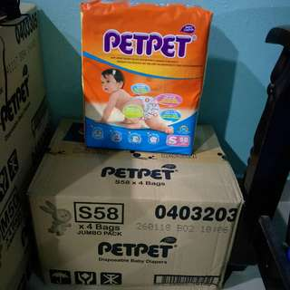 Pampers Petpet Size S