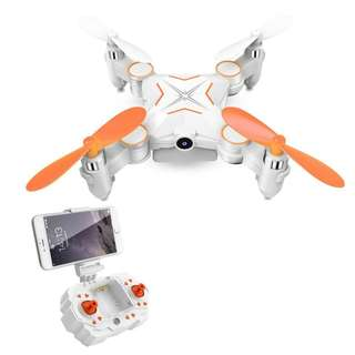 248. Mini Foldable RC Drone,Rabing Wifi FPV VR Remote Control Drone RC Quadcopter Helicopter with 720P HD Camera
