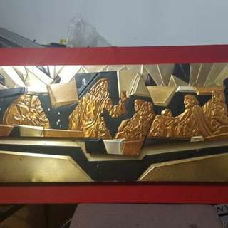 Vintage Last supper wall decor