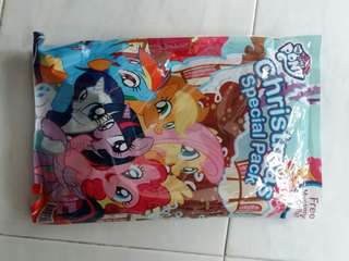 My Little Pony book with mystery gifts