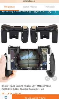 L1R1 Mobile Phone PUBG/ROS/FF dll Fire Button Shooter/ console Controller