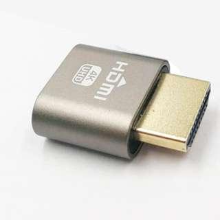 HDMI DDC EDID Dummy Plug Headless Ghost Display Emulator Lock plate 1920x1080 New generation@60Hz