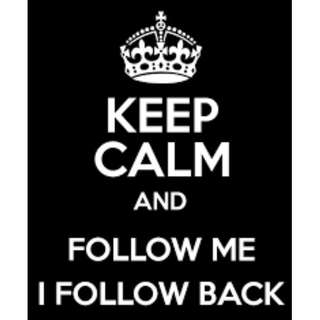 Follow for follow!