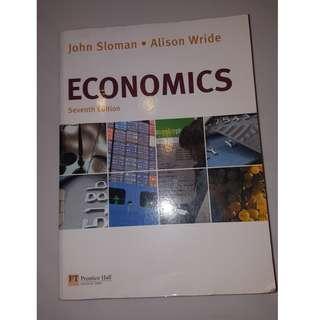 John sloman Economics Textbook for 'A' Levels