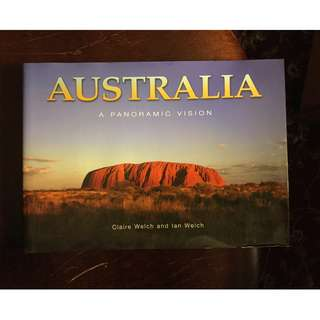 Australia Travel Guide Panoramic Vision Hardcover Photography Gift Coffee Table