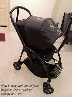Limited Edition Bugaboo Bee3 Diesel Stroller
