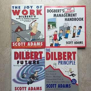 Dilbert books - a set of 4 books