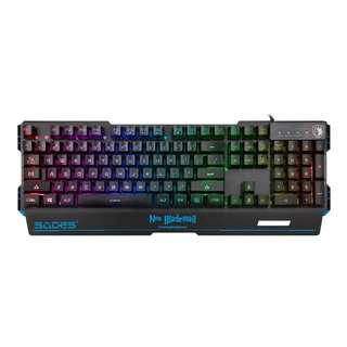 (On Sales!) SADES Neo Blademail REAL RGB Backlit Gaming Keyboard