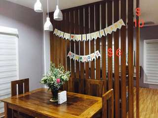 Happy Anniversary and New Home Buntings/Banner
