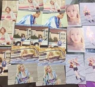 少女時代 泰妍 mini 2輯solo why 官方週邊 sticker set