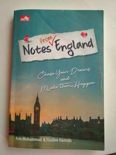 Notes from England