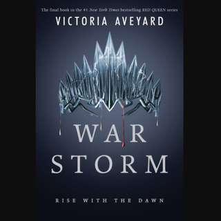 (Ebook) War Storm (Red Queen #4) by Victoria Aveyard