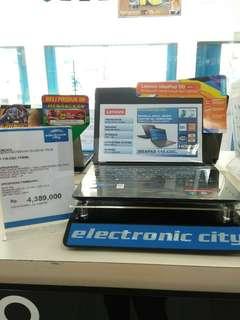 Kredit laptop lenovo ideapad 110 free 1x angsuran