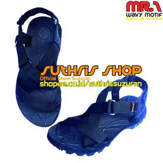 Sandal Gunung Suzuran Cross Mr1 Full Navy Blue