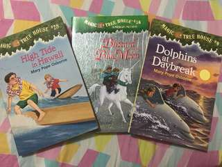 3 Magic Tree House Books for only 200 pesos❤️